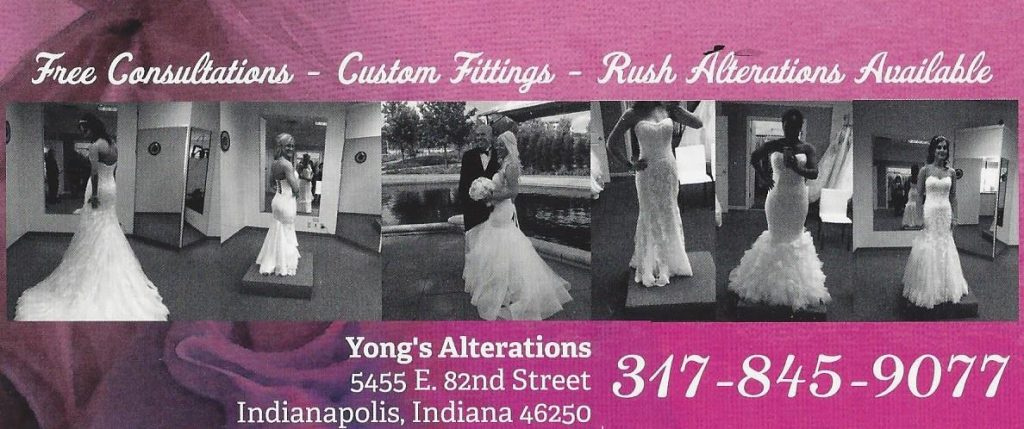 Yong's Alterations 317-845-9077